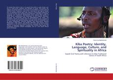 Capa do livro de Kiba Poetry: Identity, Language, Culture, and Spirituality in Africa