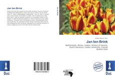 Bookcover of Jan ten Brink