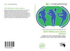 Bookcover of 2005 Melbourne Storm Season