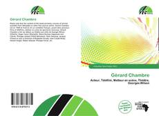 Bookcover of Gérard Chambre