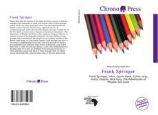 Frank Springer的封面