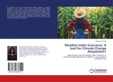 Bookcover of Weather Index Insurance: A tool for Climate Change Adaptation?