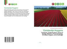 Portada del libro de Constantijn Huygens