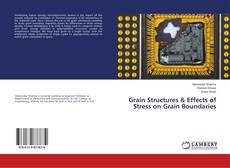 Portada del libro de Grain Structures & Effects of Stress on Grain Boundaries