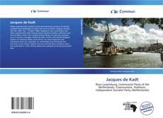 Buchcover von Jacques de Kadt