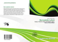 Buchcover von Bernadette Lafont