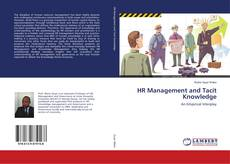 Bookcover of HR Management and Tacit Knowledge