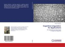 Couverture de Cognitive Linguistics: Its Applications
