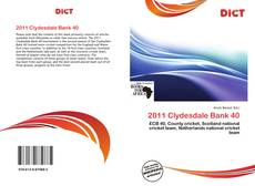 Bookcover of 2011 Clydesdale Bank 40