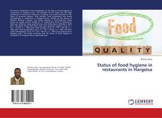 Bookcover of Status of food hygiene in restaurants in Hargeisa