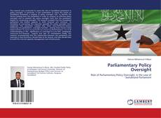Capa do livro de Parliamentary Policy Oversight