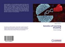 Bookcover of Genetics of Learning Disability