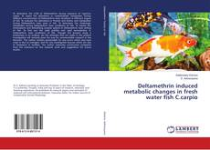 Bookcover of Deltamethrin induced metabolic changes in fresh water fish C.carpio