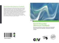 David Alexander (American Football) kitap kapağı
