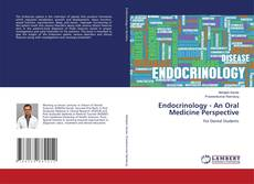 Capa do livro de Endocrinology - An Oral Medicine Perspective