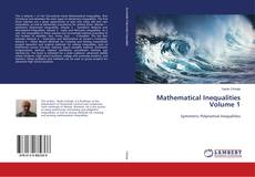 Couverture de Mathematical Inequalities Volume 1