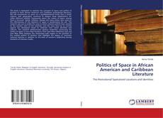 Bookcover of Politics of Space in African American and Caribbean Literature