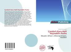 Çandarlı Kara Halil Hayreddin Pasha kitap kapağı