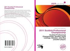 Couverture de 2011 Scottish Professional Championship
