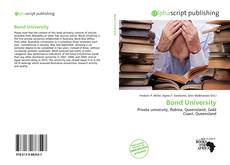 Bookcover of Bond University