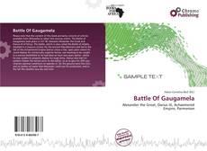 Portada del libro de Battle Of Gaugamela