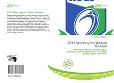 Capa do livro de 2011 Warrington Wolves Season