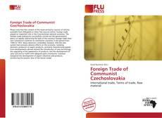 Capa do livro de Foreign Trade of Communist Czechoslovakia