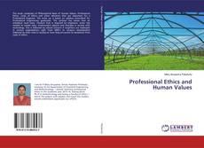 Copertina di Professional Ethics and Human Values