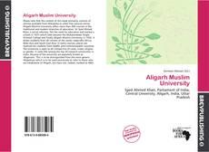 Bookcover of Aligarh Muslim University
