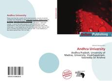 Bookcover of Andhra University