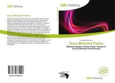 Capa do livro de Kara Mehmed Pasha