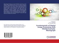 Buchcover von Fundamentals of Digital Image Processing with Matlab Example-Monograph