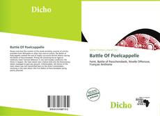 Capa do livro de Battle Of Poelcappelle