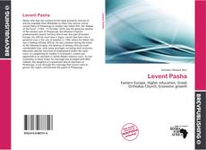 Levent Pasha kitap kapağı