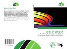 Borítókép a  Battle Of Sari Bair - hoz