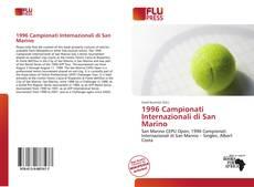 Bookcover of 1996 Campionati Internazionali di San Marino