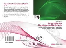 Обложка Association for Renaissance Martial Arts