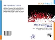 Bookcover of 230th Brigade Support Battalion