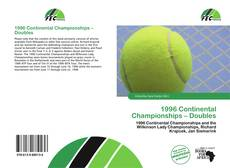 Bookcover of 1996 Continental Championships – Doubles