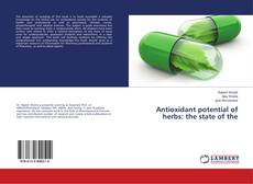 Copertina di Antioxidant potential of herbs: the state of the