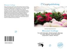 Couverture de Missouri College