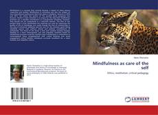 Buchcover von Mindfulness as care of the self