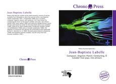 Jean-Baptiste Labelle kitap kapağı