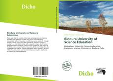 Bookcover of Bindura University of Science Education