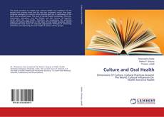 Bookcover of Culture and Oral Health