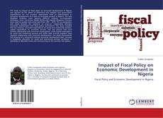 Impact of Fiscal Policy on Economic Development in Nigeria kitap kapağı