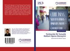 Capa do livro de Türkiye'de İlk Tematik Reklam Ajansı Deneyimi