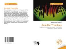 Couverture de Amédée Tremblay
