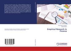 Portada del libro de Empirical Research In Finance