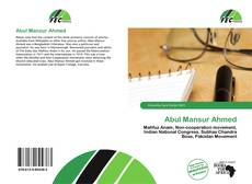 Bookcover of Abul Mansur Ahmed